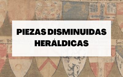 Piezas disminuidas en heráldica