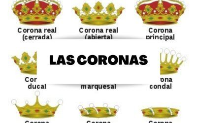 Adornos exteriores en heráldica: Las coronas